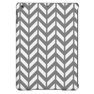 Smoke Chevron 4 Cover For iPad Air
