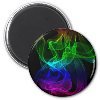 Smoke color 2 inch round magnet