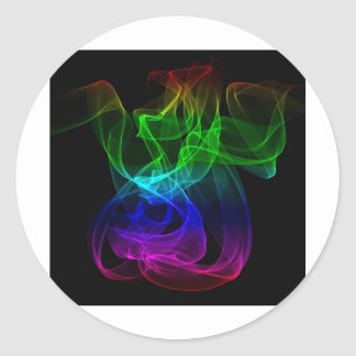Smoke color stickers