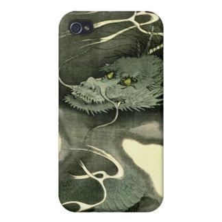 Smoke Dragon 1895 iPhone 4/4S Covers
