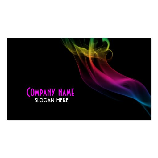 Smoke Effect Business Card