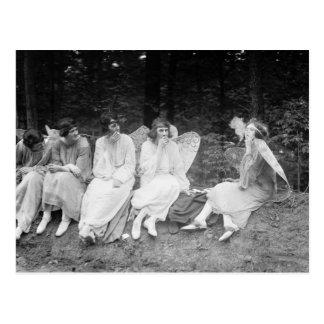 Smoke 'Em If You Got 'Em: 1922 Postcard