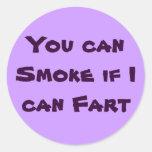 smoke/fart stickers