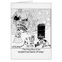 Smoke & Feng Shui Card