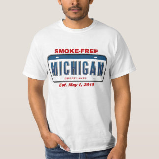 Smoke-free Michigan! Tee Shirt