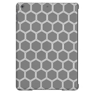 Smoke Hexagon 1 iPad Air Case