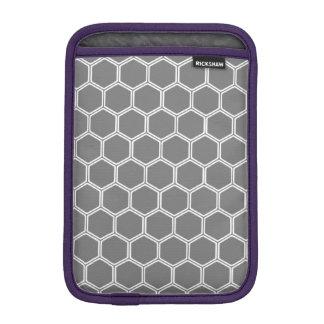 Smoke Hexagon 1 iPad Mini Sleeves