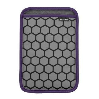 Smoke Hexagon 4 iPad Mini Sleeve