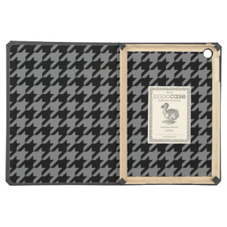 Smoke Houndstooth 2 iPad Air Cases