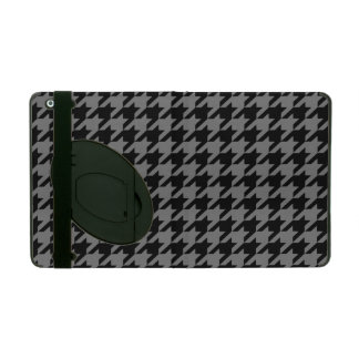 Smoke Houndstooth 2 iPad Cover