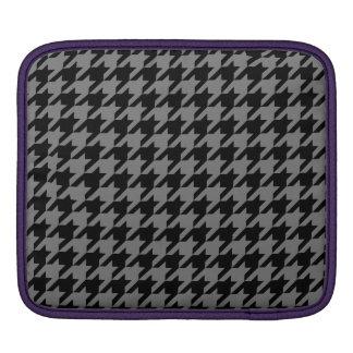 Smoke Houndstooth 2 iPad Sleeve