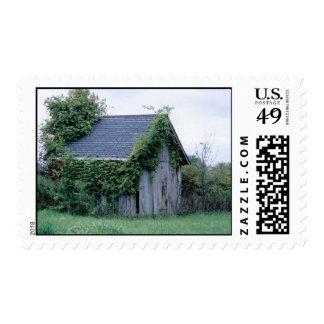 Smoke house Postal Stamp
