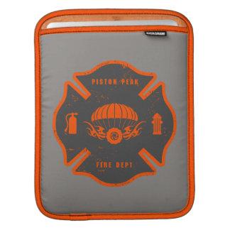 Smoke Jumpers Badge Sleeve For iPads