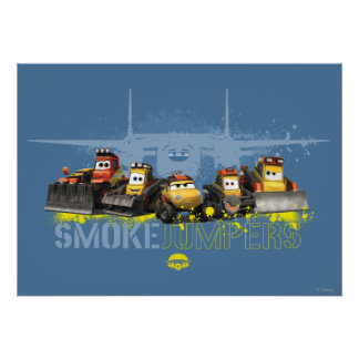 Smoke Jumpers Graphic Posters