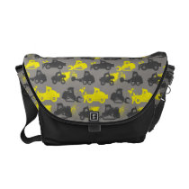 Smoke Jumpers Gray Pattern Messenger Bags at Zazzle