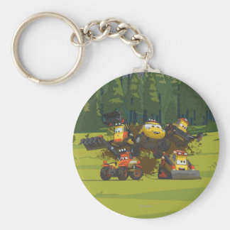 Smoke Jumpers Group Keychain