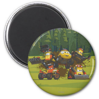 Smoke Jumpers Group Magnet