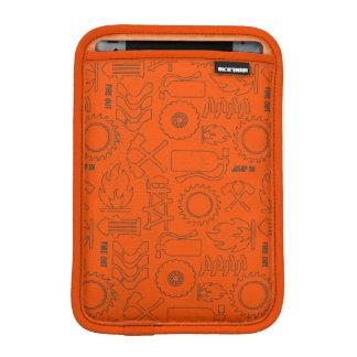 Smoke Jumpers Orange Pattern iPad Mini Sleeve
