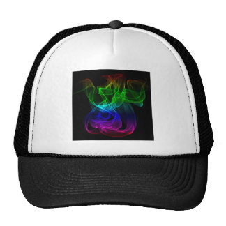 Smoke multicolor trucker hat
