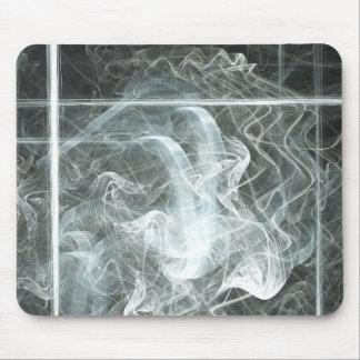 Smoke Over Black Mouse Pad