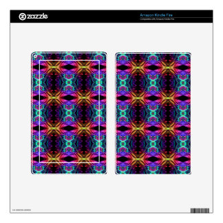 Smoke Pattern Ab (11) Skins For Kindle Fire