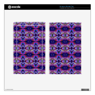 Smoke Pattern Ab (8) Skin For Kindle Fire