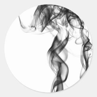 Smoke Photography - Black Sticker
