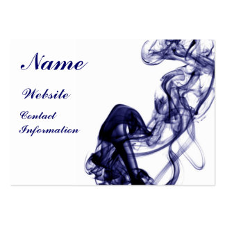 Smoke Photography - Blue Business Card
