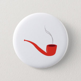 Smoke Pipe Pinback Button