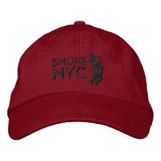 Smoke Red BB Embroidered Baseball Hat