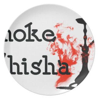 Smoke Shisha Plate