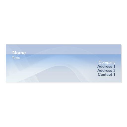 Smoke Skinny Mini Business Card