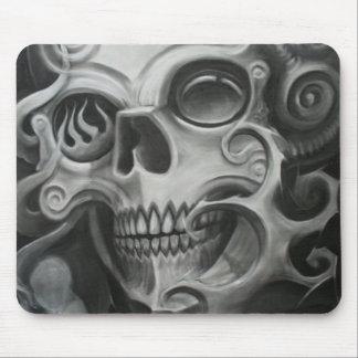 Smoke Skull Mouse Pad