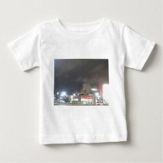 Smoke Stacks by Night Baby T-Shirt