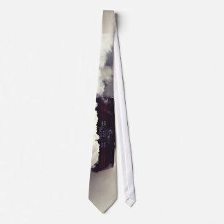 Smoke Themed, A Huge Smoke On Overwhelmingly Heate Tie
