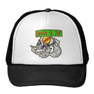 Smoke Till You Choke Trucker Hat