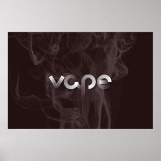 Smoke Vape Premium Poster Print