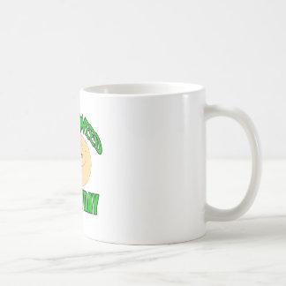 Smoke weed every day funny high smiley coffee mug