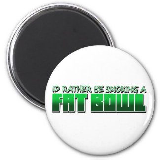 SmokeaFatBowl 2 Inch Round Magnet