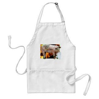 smoked bacon adult apron