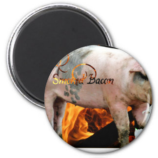 smoked bacon magnet