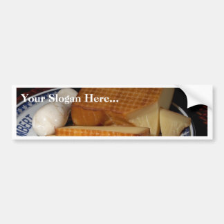 Smoked Gruycre Cheese Car Bumper Sticker