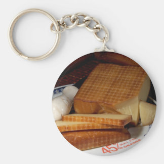 Smoked Gruycre Cheese Keychains