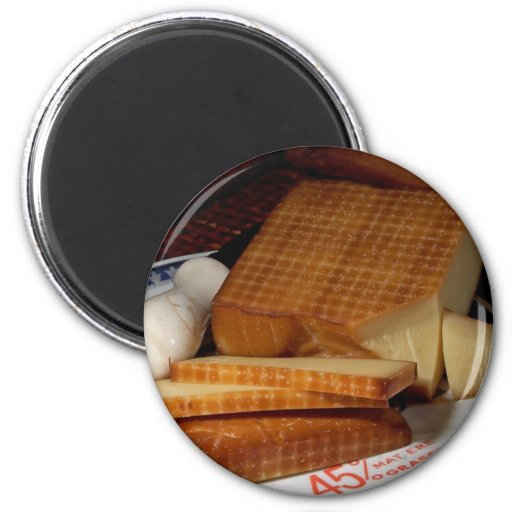 Smoked Gruycre Cheese Magnets