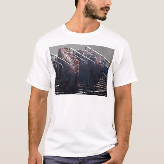 Smoked Ribs On Grill T-Shirt