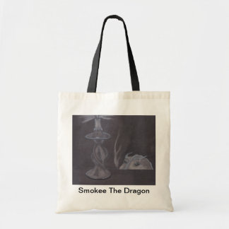 Smokee el dragón por Akemanartist Bolsa