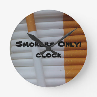 Smokers Only! Clock