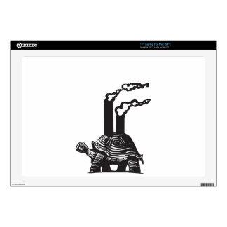 """Smokestack Turtle 17"""" Laptop Decal"""