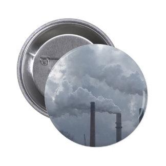 smokestacks pinback button