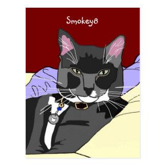 Smokey8 Postcard